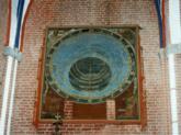 Gesamtansicht der astronomischen Uhr im Münster Bad Doberan , 18209 Bad Doberan