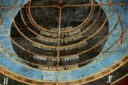 Teilansicht der astronomischen Uhr im Münster Bad Doberan , 18209 Bad Doberan
