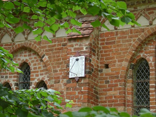 Kirche Demen (Church Demen), Fritz-Reuter-Str., D-19089 Demen (Juni 2006)