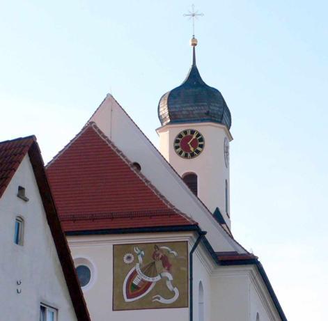Kirche Ballmertshofen (Church Ballmertshofen), D-89561 Dischingen OT Ballmertshofen