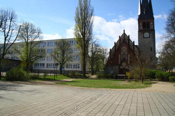 Kirchvorplatz, Friedrichstraße, D-15537 Erkner