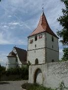 Kirchturm (tower of the church), D-71691 Freiberg/Neckar, OT Beihingen