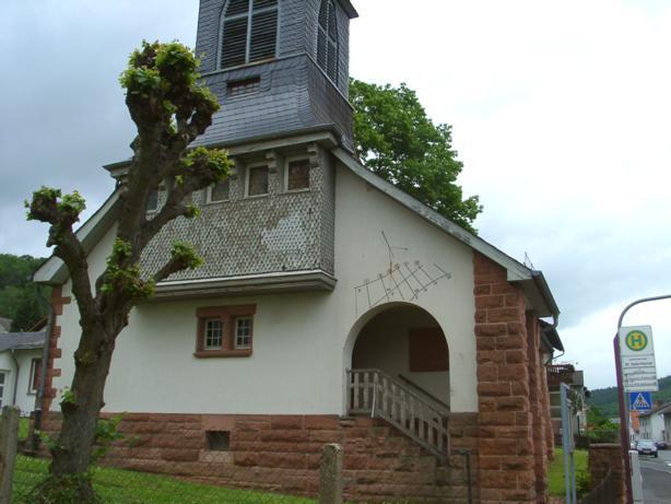 Evangelische Dankeskirche, Birsteiner Str. 31, D-63571 Gelnhausen OT Haitz