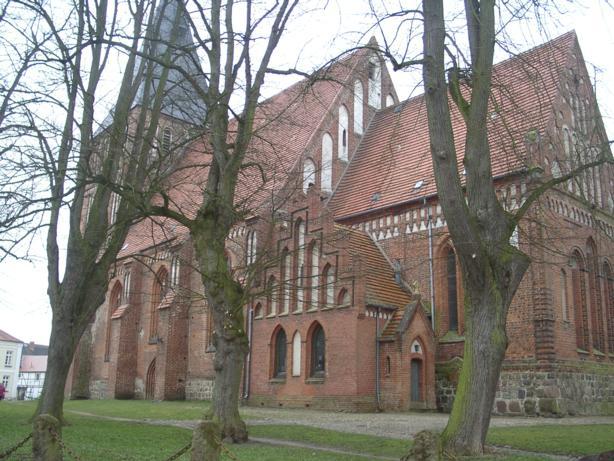 Kirche, Am Kirchplatz, D-17179 Gnoien