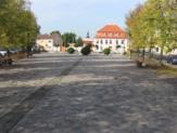 """Alter Standort der Sonnenuhr am """"Platz des Friedens"""", D-39425 Gommern"""