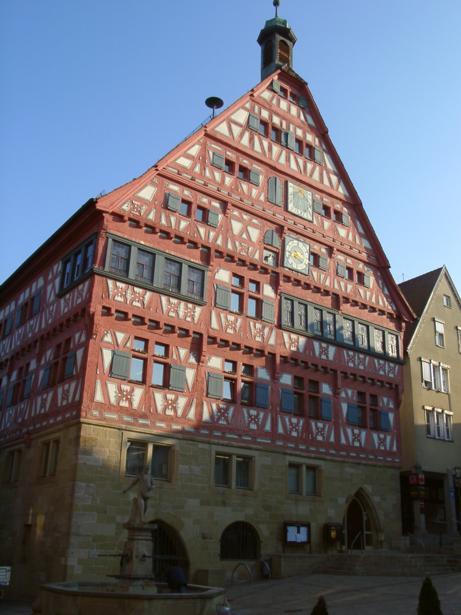 Rathaus Großbottwar, Marktplatz 1, D-71723 Großbottwar