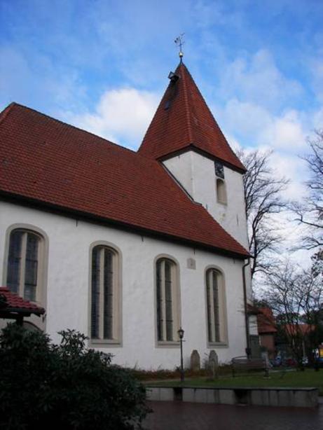 Kirche St. Cosmae und Damian, D-27729 Hambergen