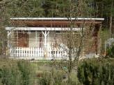 Kleingartensparte Am Stadtrand Nord, Gartenweg am Waldesrand, Parzelle 47, D-02977 Hoyerswerda (April 2002)