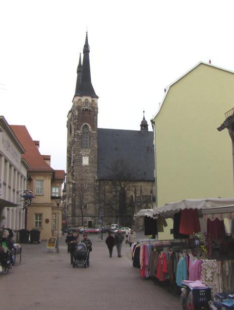 Jacobikirche, Markt, D-06366 Köthen