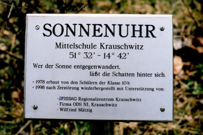 Oberschule Krauschwitz, D-02957 Krauschwitz