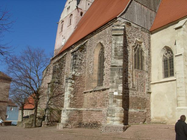Kirche St. Petri, 06193 Löbejün (Bild: P. Lindner)