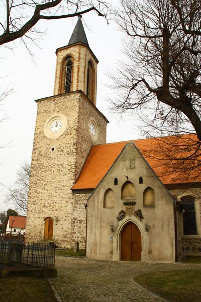 Kirche, Zerrener Str., D-39110 Magdeburg OT Diesdorf