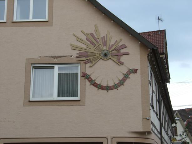 "Gasthof ""Sonne"", Walterichsweg 1, D-71540 Murrhardt"
