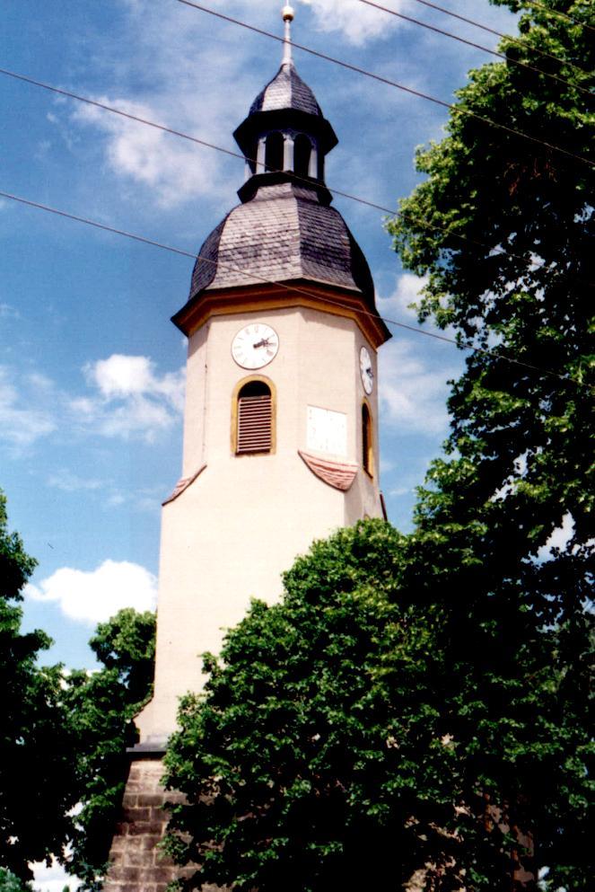 "Kirche Grünberg ""St. Bartolomae"", (Church Grünberg), D-01458 Ottendorf-Okrilla OT Grünberg"
