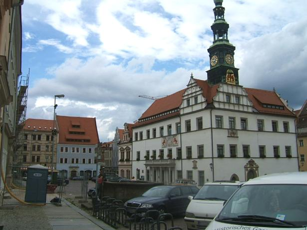 Rathaus Pirna (Towns hall), Markt 1, D-01796 Pirna