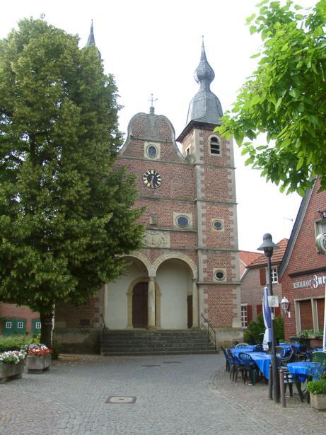 Schloßkapelle St. Sebastian, Freiheit, D-46348 Raesfeld