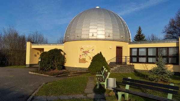 Schulsternwarte und Planetarium Sigmund Jähn, Rützengrüner Str. 41 a, D-08228 Rodewisch