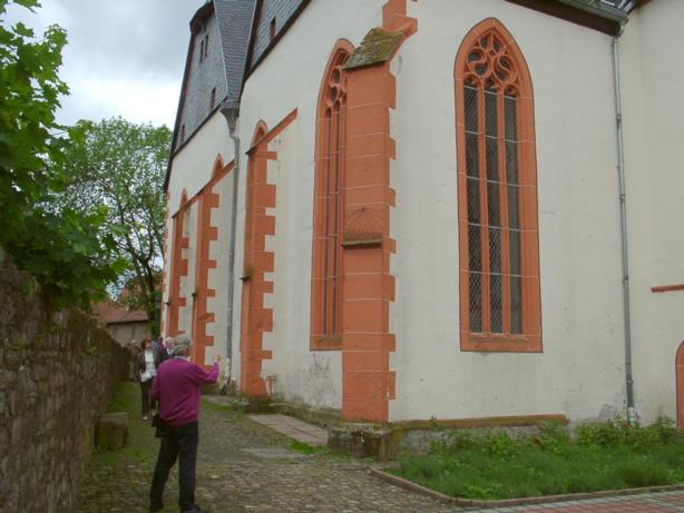 Evangelische Pfarrkirche St. Katharina, Brüder-Grimm-Str., D-36396 Steinau an der Straße