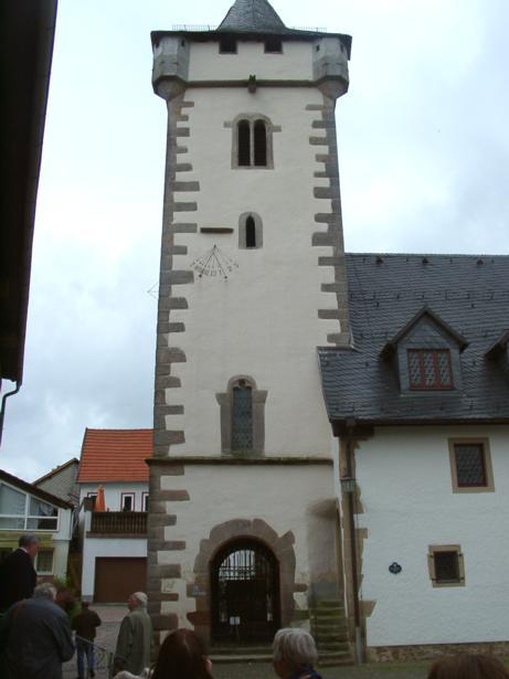 Evangelische Kirche (ehemaliger Wehrturm), An der Kirche, D-63607 Wächtersbach