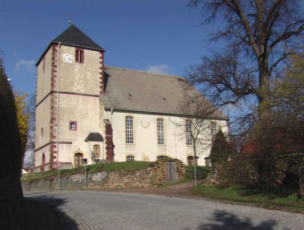 Kirche, Am Kirchberg, D-04720 Zschaitz